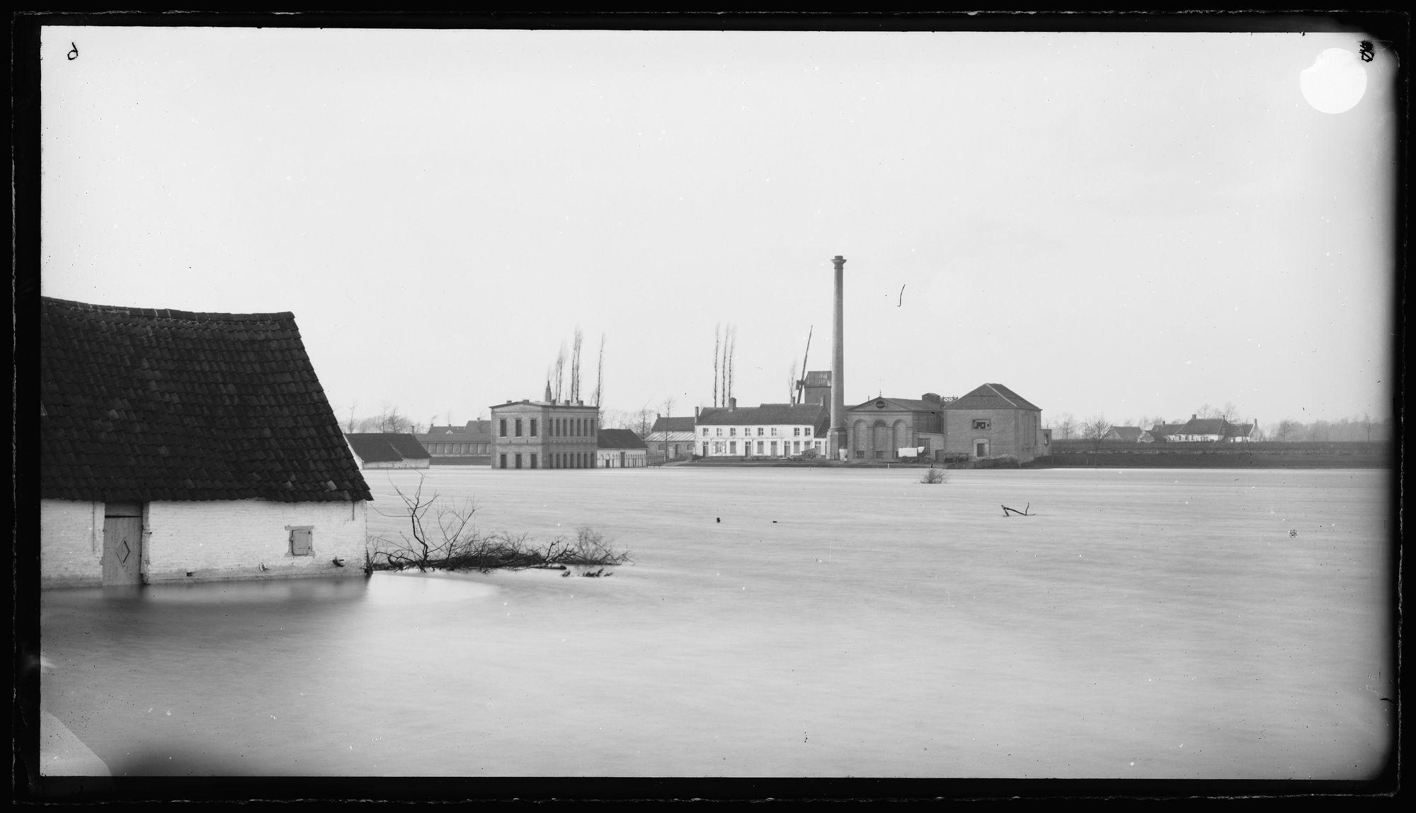 Overstroming van de Leie in 1863