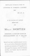 Milly Mortier