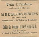 MEUBLES NEUFS