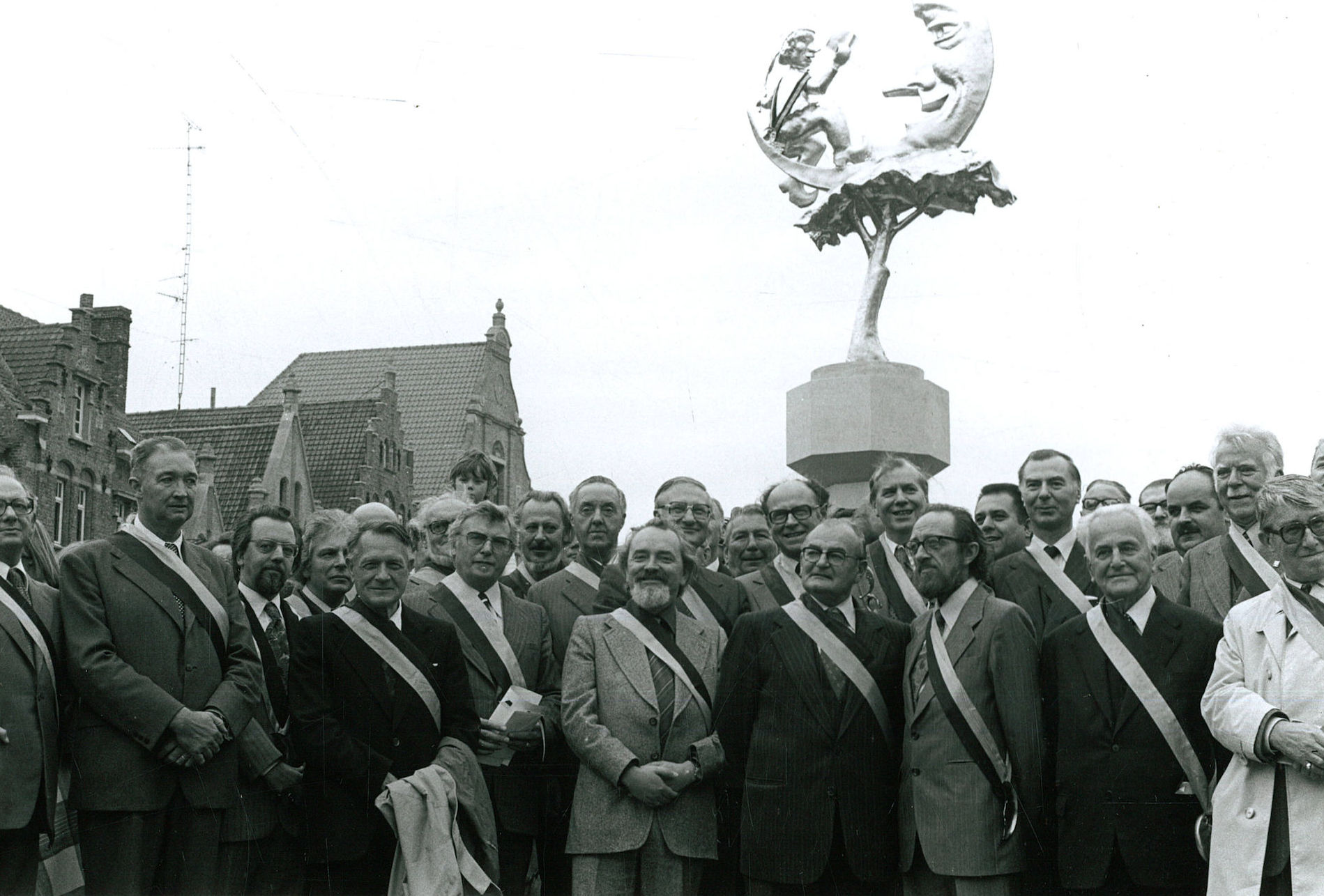 André Demets, Ridder in de orde van 't Manneke uit de Mane 1970