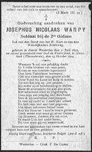 Warpy Josephus-Nicolaas