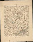 Topografische kaart van Kortrijk, 1904