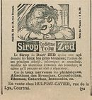 Sirop Codeine Tolu Zed
