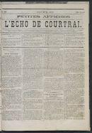 L'echo De Courtrai 1875-05-20 p1