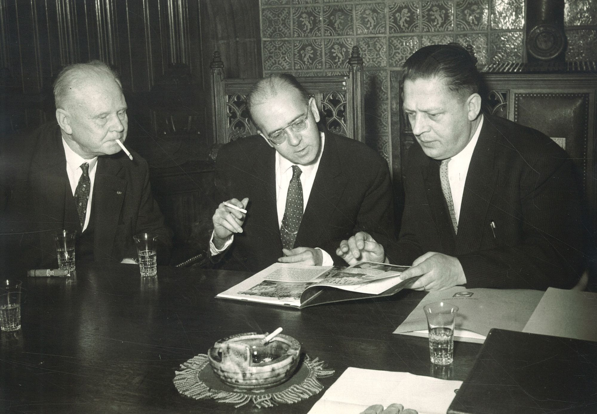 Ontvangst consul-generaal George Wilson