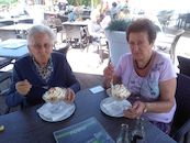 Jeanne Buyck en Ghislaine Tack