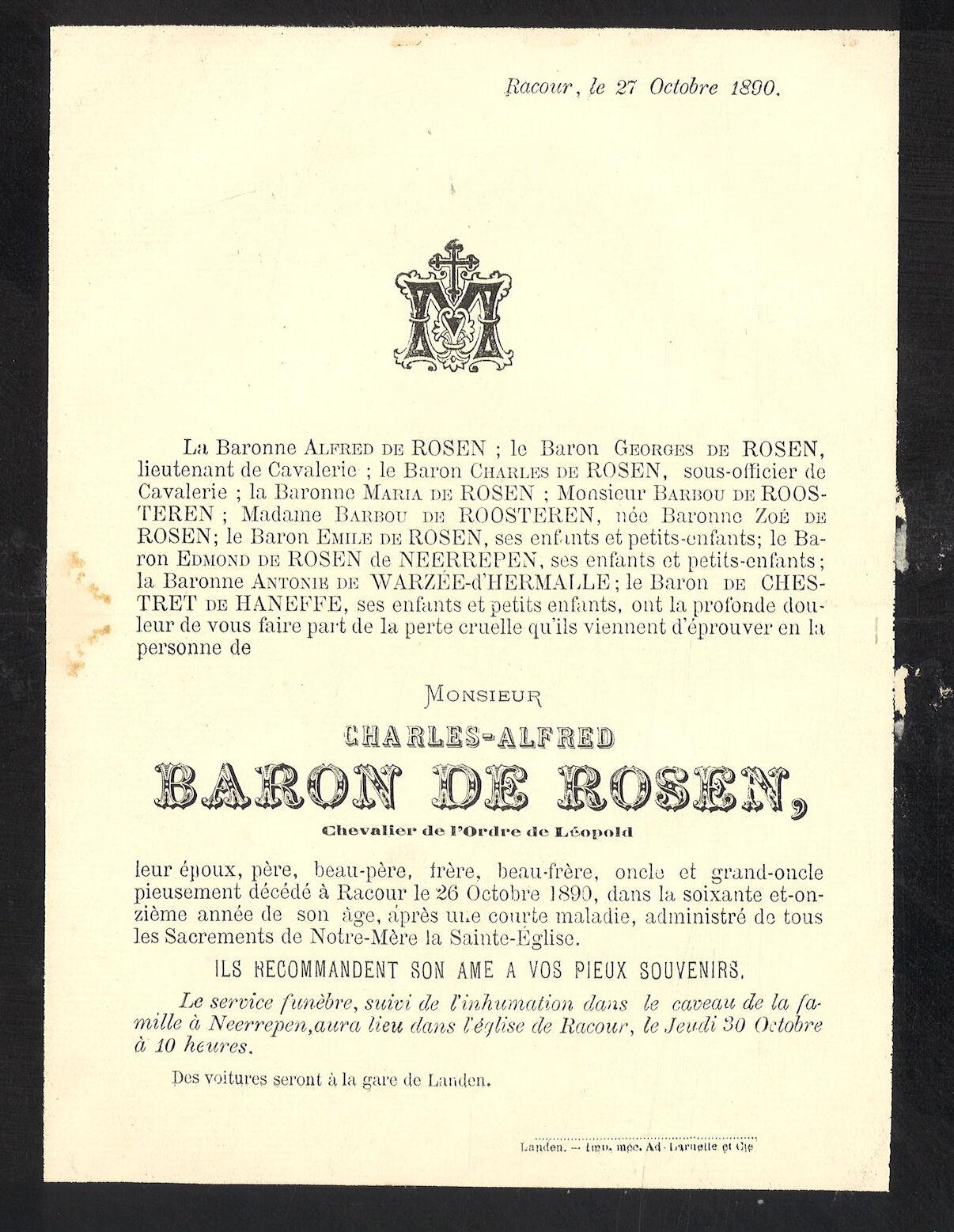 Charles-Alfred de Rosen