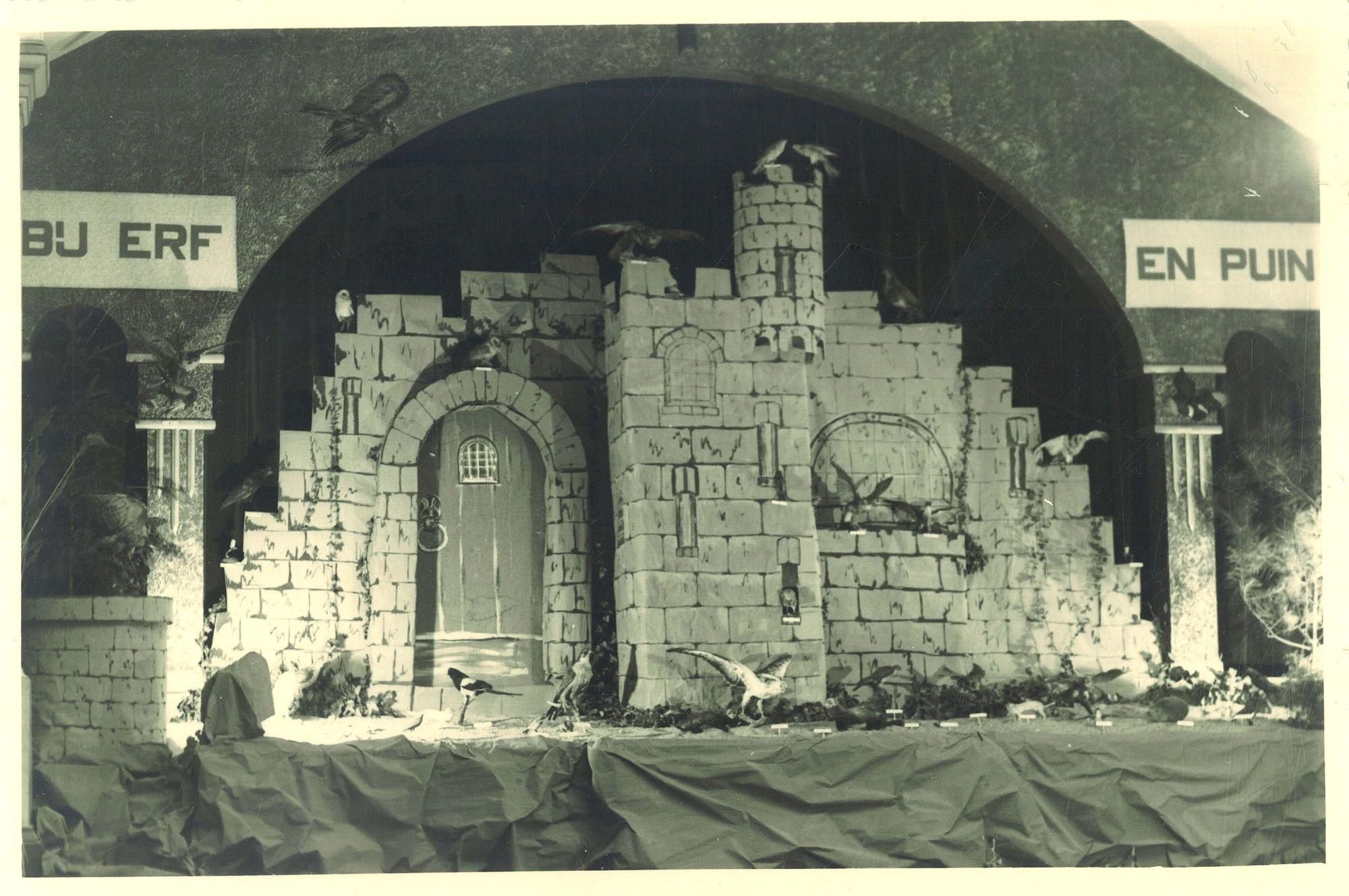 """Tentoonstelling """"De Wielewaal"""" op Overleie in 1950"""