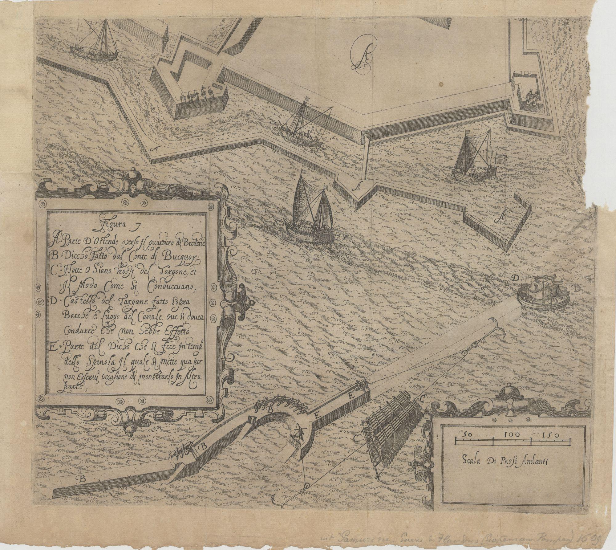 Westflandrica - de versterkingen en de haven van Oostende