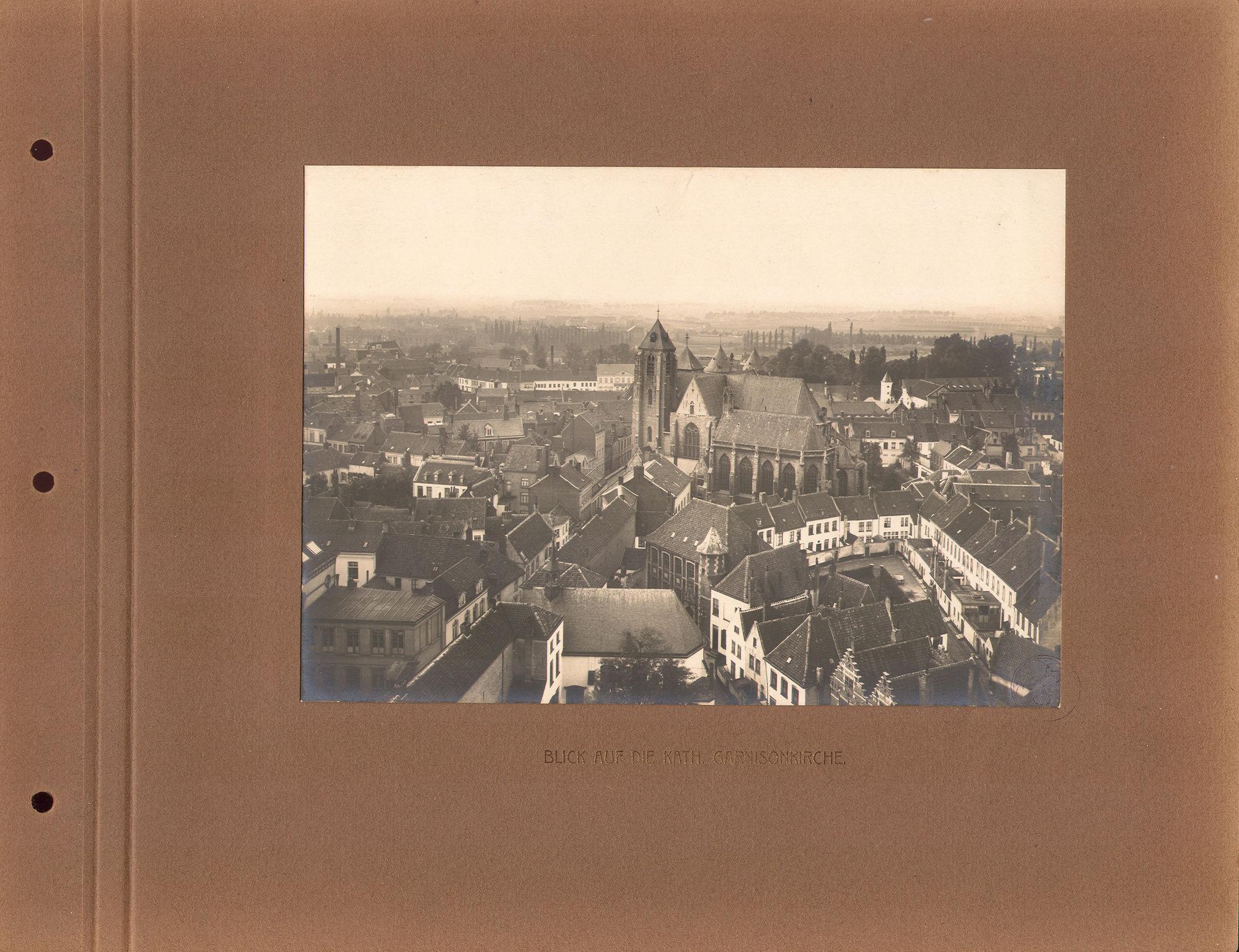 Sint-Maartenskerk tijdens Wereldoorlog I