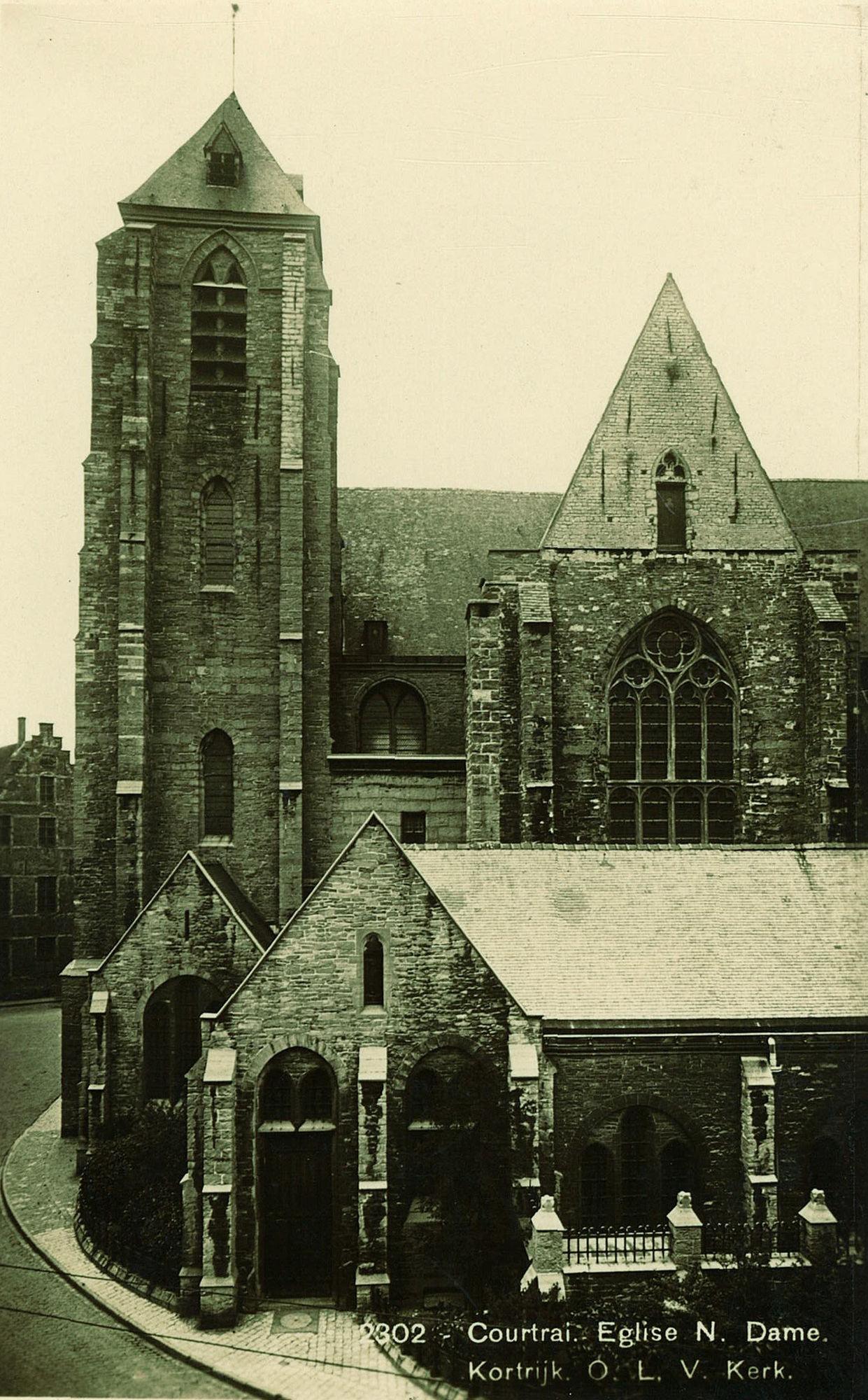 De Gravenkapel van de Onze-Lieve-Vrouwekerk