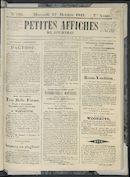 Petites Affiches De Courtrai 1841-10-27