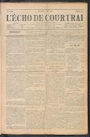 L'echo De Courtrai 1911-06-11