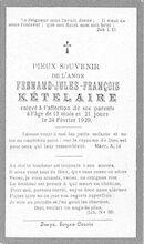 Kételaire Fernand-Jules-Francois