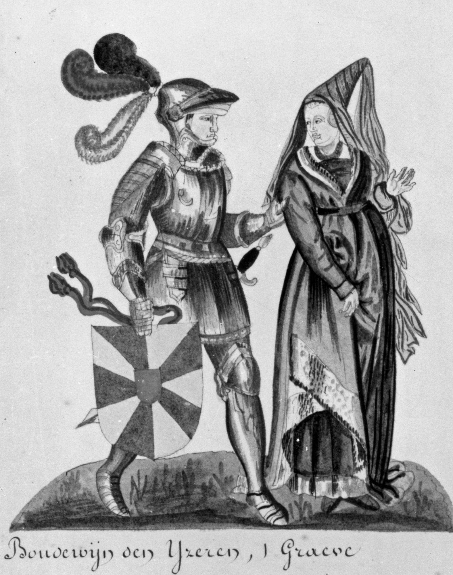 Boudewijn I en Judith
