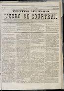 L'echo De Courtrai 1873-08-17