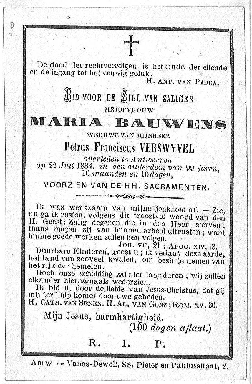 Maria Bauwens