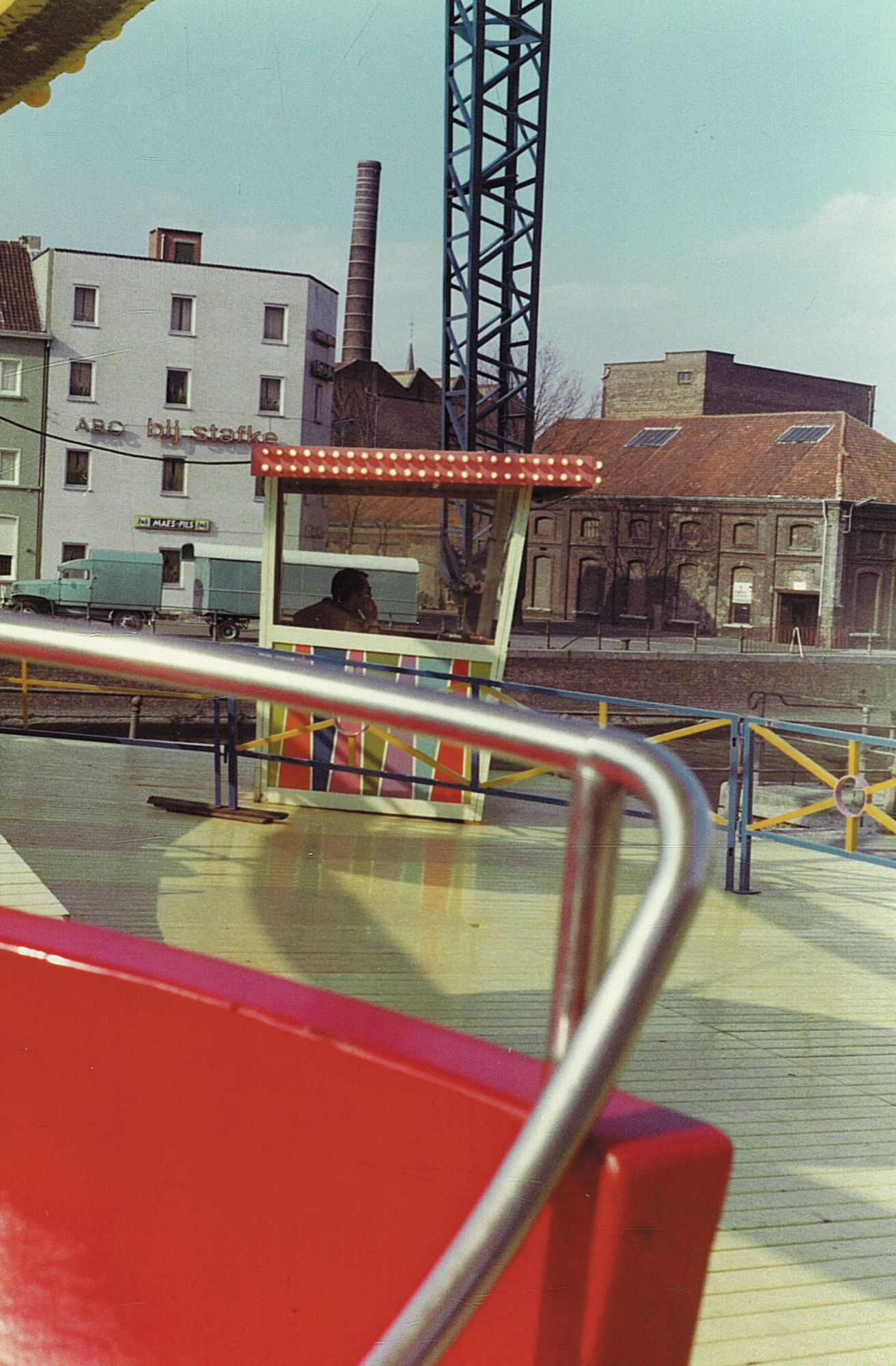 Reuzenrad op Paasfoor 1976