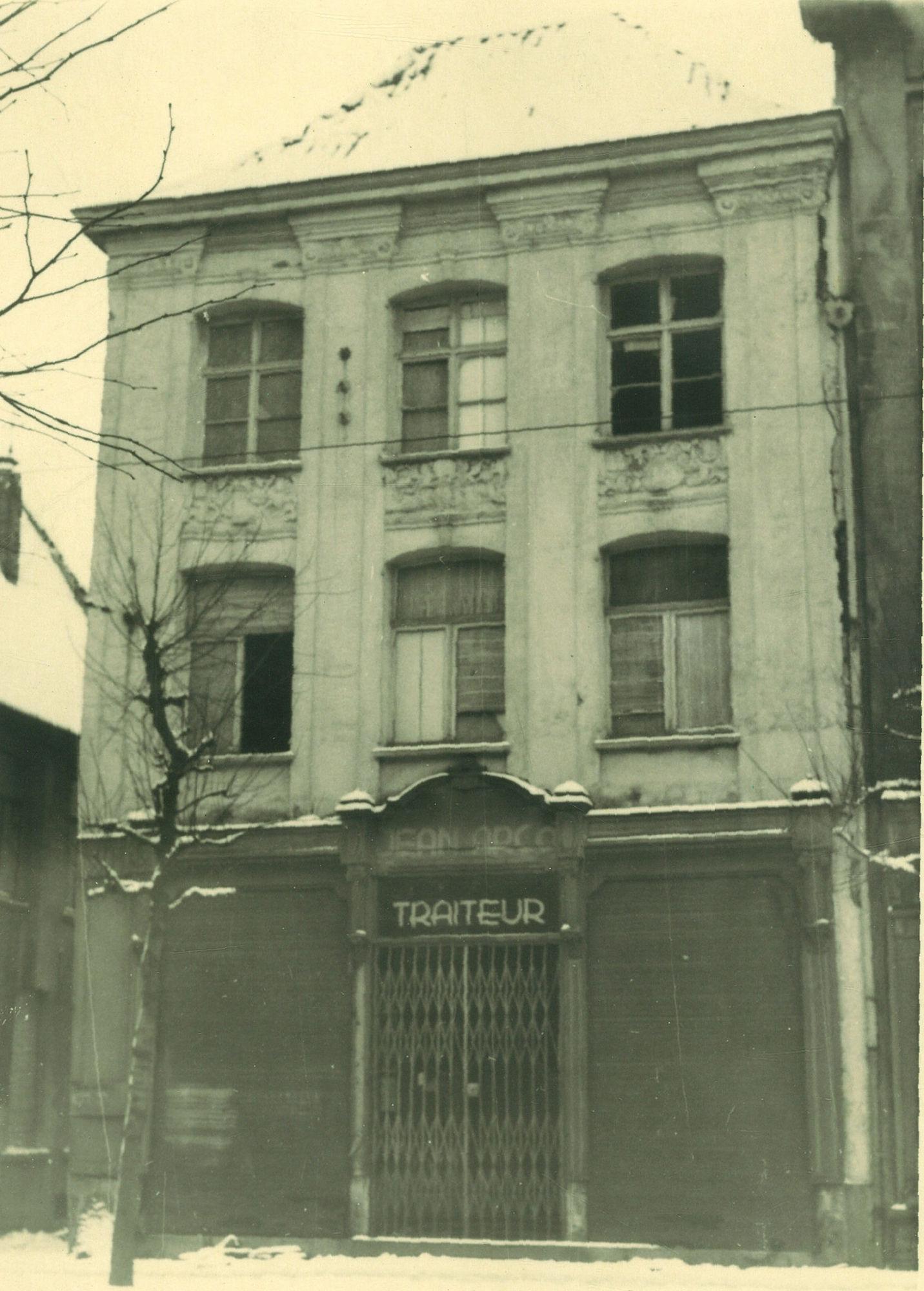 Rijselsestraat 8 in 1944