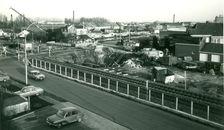Spoorwegberm Kortrijk-Gent 1977
