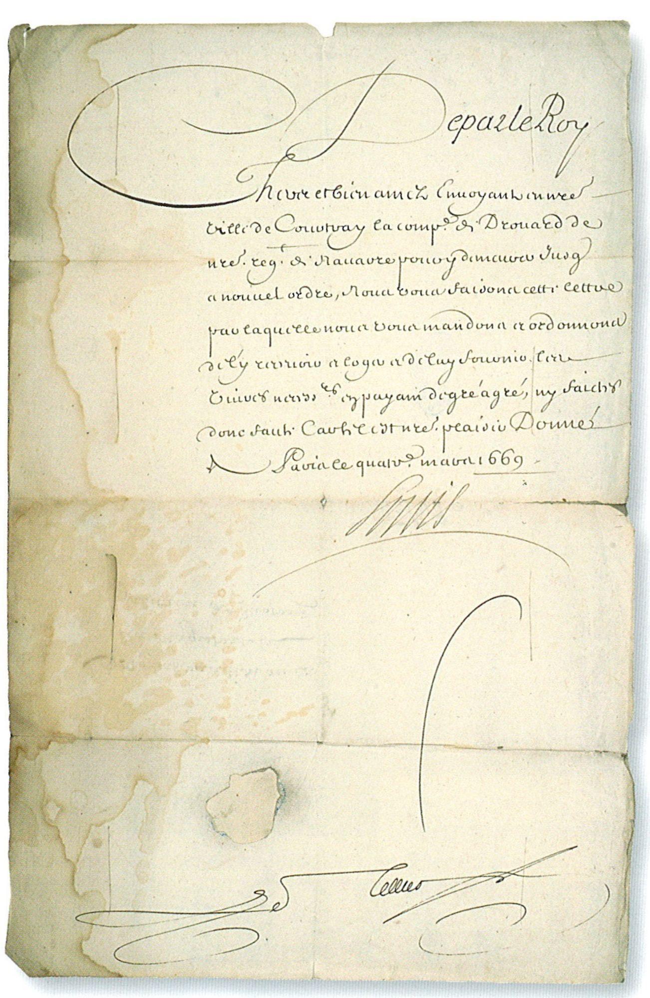 Document Lodewijk XIV