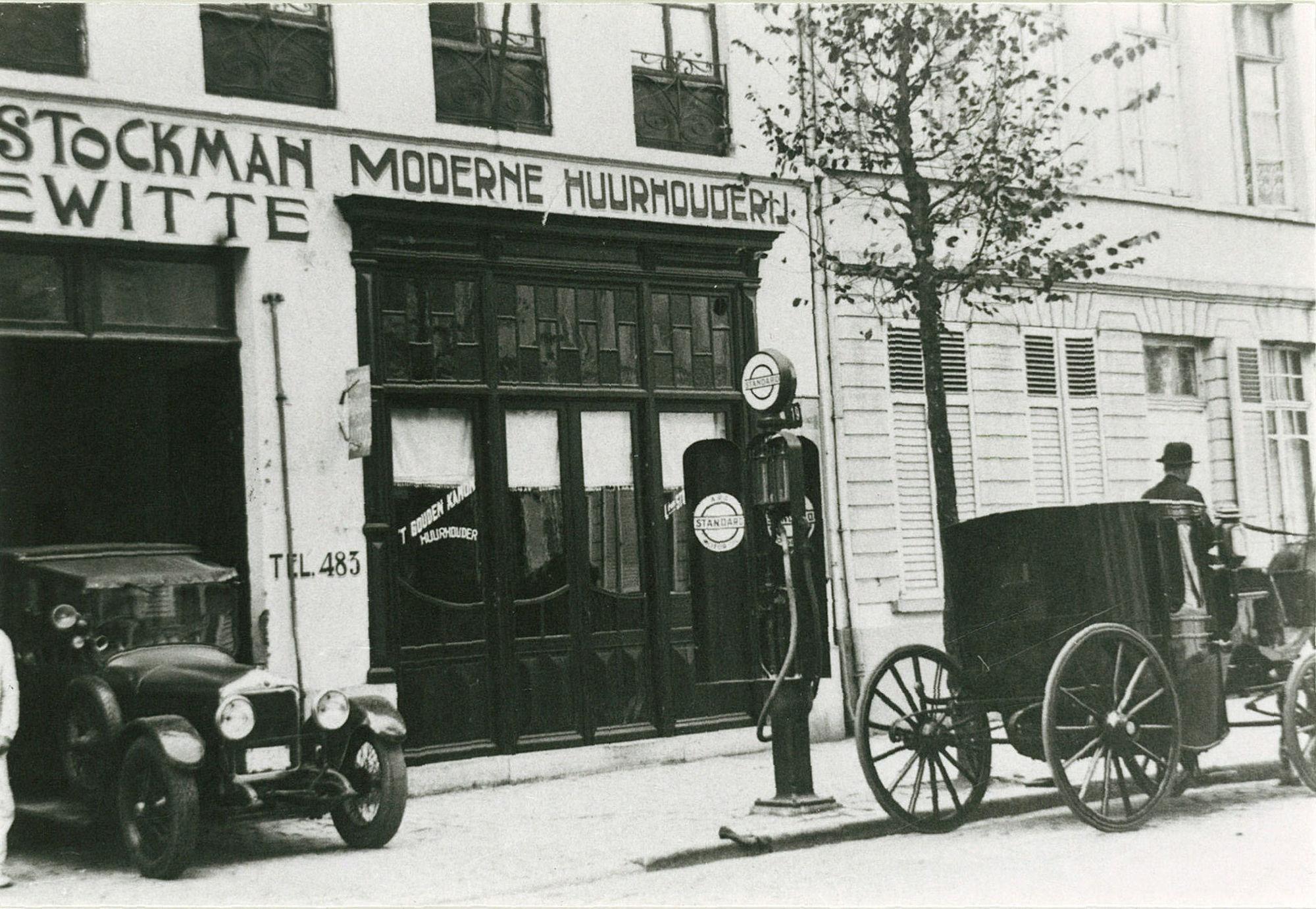 Koetsen- en autoverhuurbedrijf Stockman moderne huurhouderij