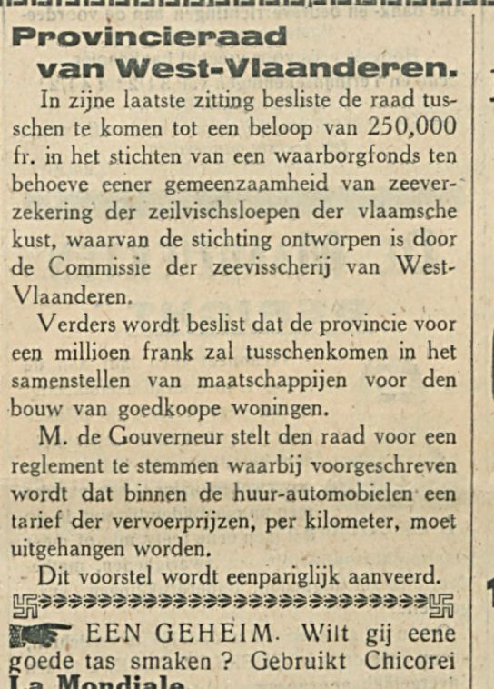 Provincieraad van West Vlaanderen