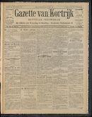 Gazette Van Kortrijk 1910-10-27 p1