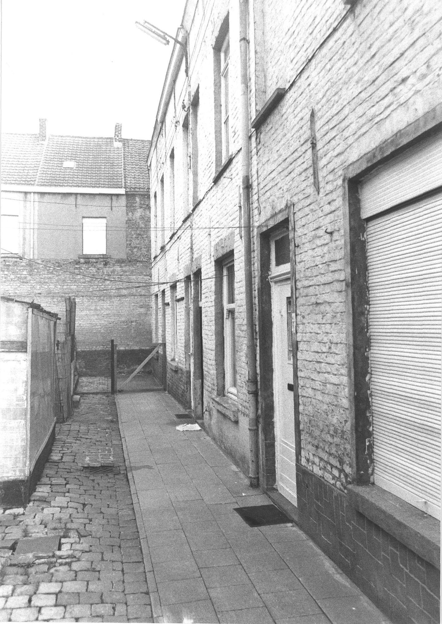 Beluik in de Loodwitstraat 1981