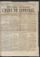 L'echo De Courtrai 1873-12-14