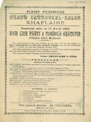 Paasfoor 1903: Grand Carrousel-Salon Xhaflaire