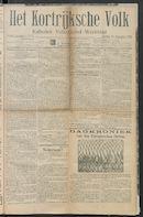 Het Kortrijksche Volk 1914-09-13