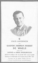 Gaston-Herman-Robert De Waele