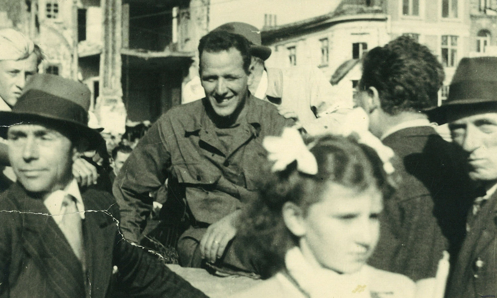James Bentis op 4 september 1944