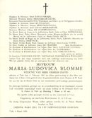Maria-Ludovica Blomme