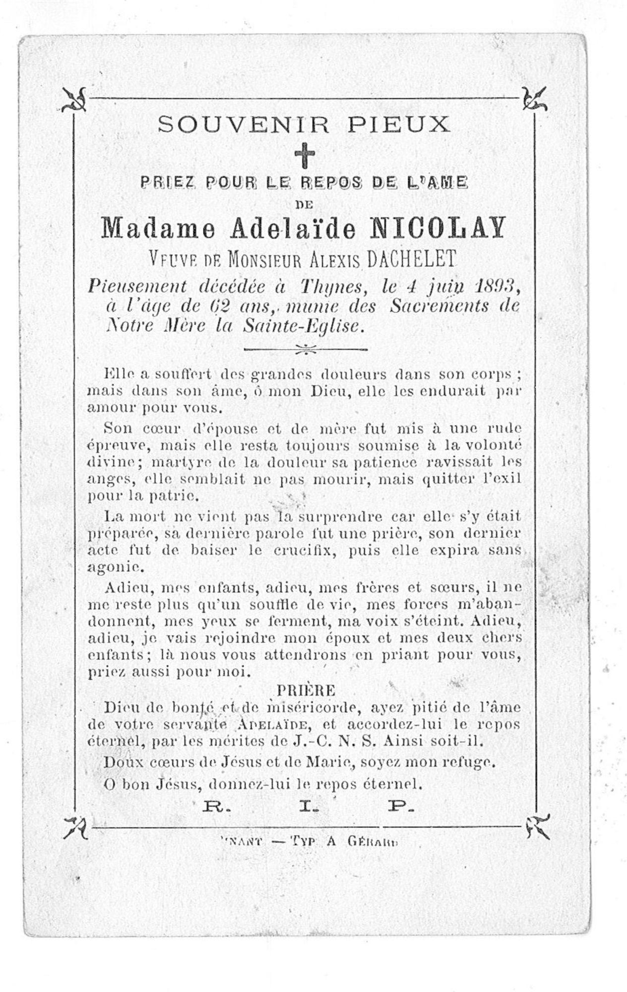 Adelaïde Nicolay