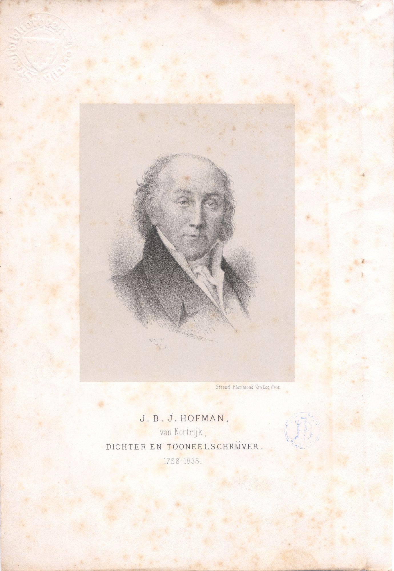 Jan Baptist Hofman, acteur en toneelschrijver