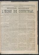 L'echo De Courtrai 1873-11-20 p1