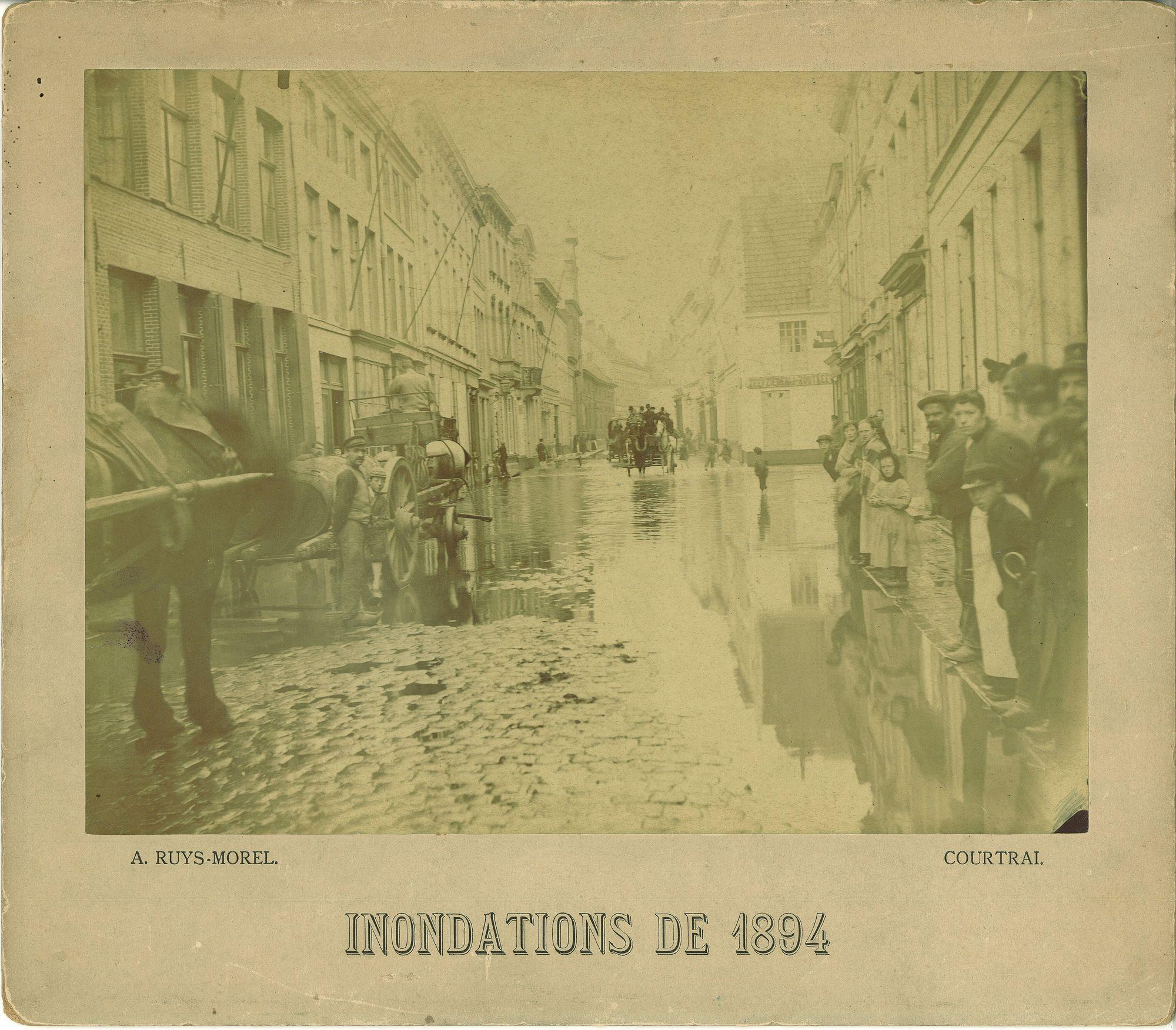Overstroming van de Leie