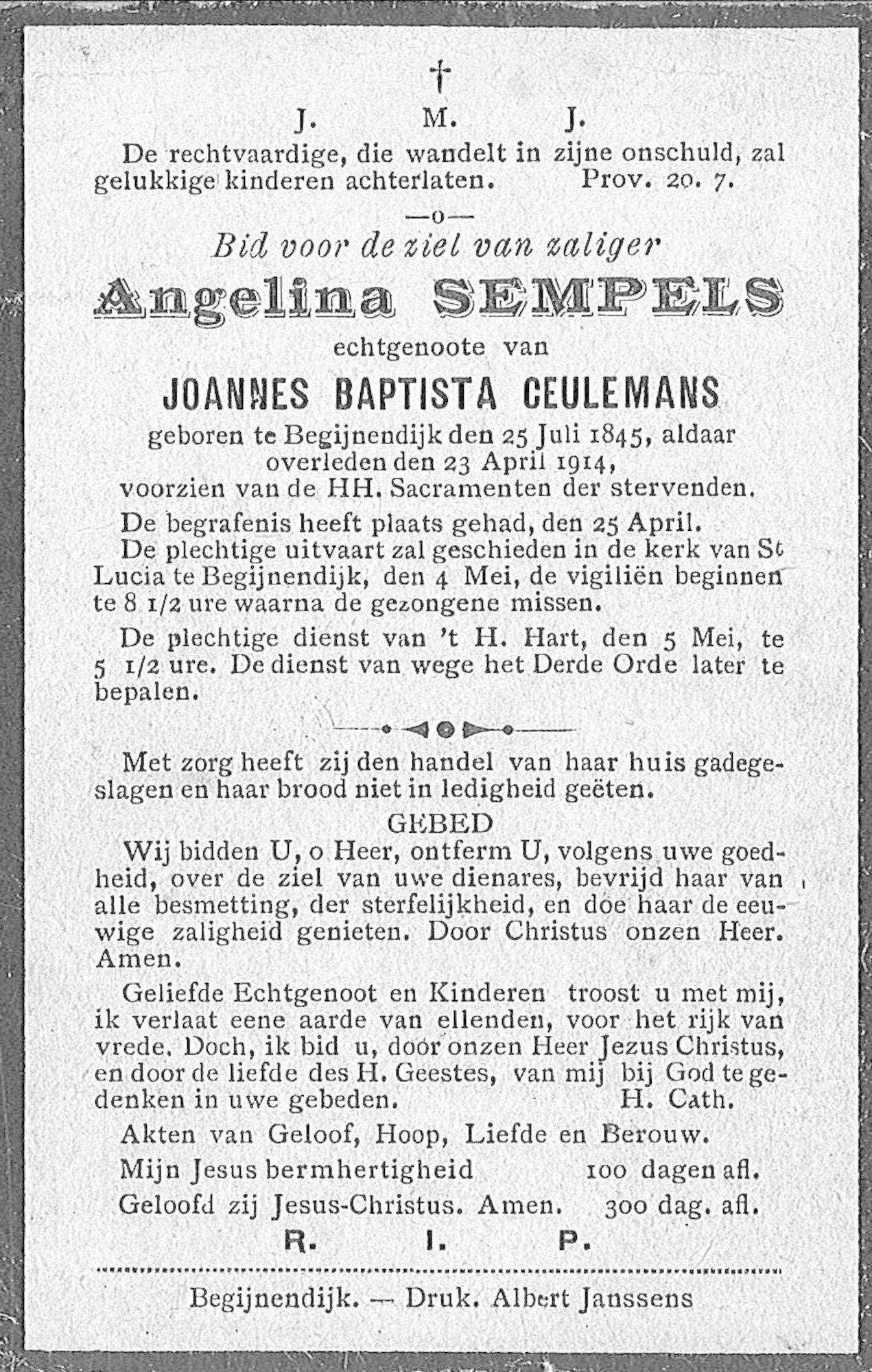 Angelina Sempels