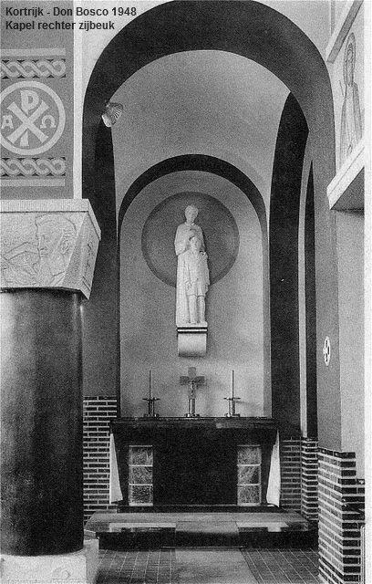 Kapel Don Bosco Kortrijk 1948