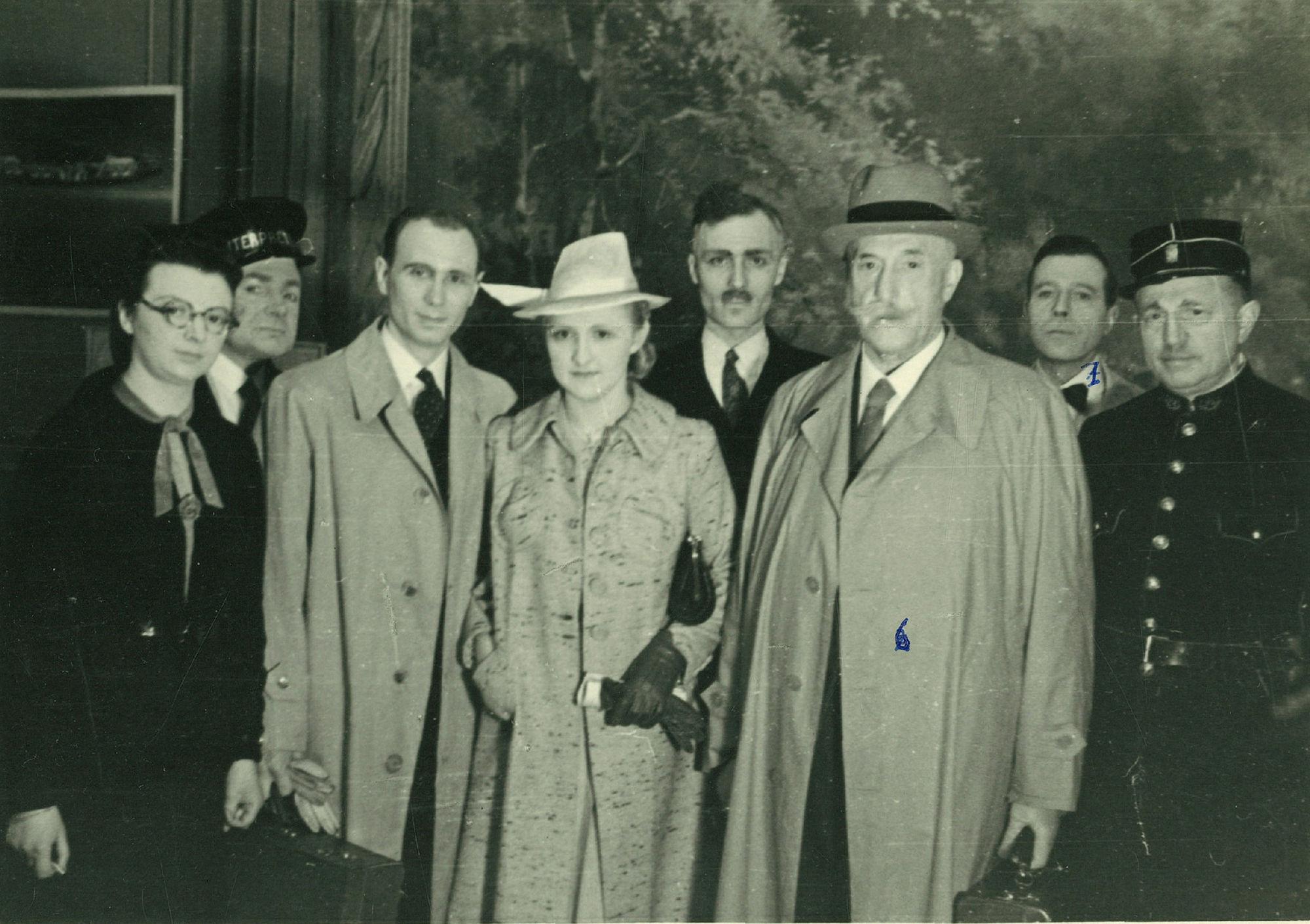 La Jeune Garde Catholique in 1940