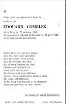 Edouard Comblez