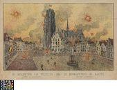 Westflandrica - Mechelen, bombardement 1914