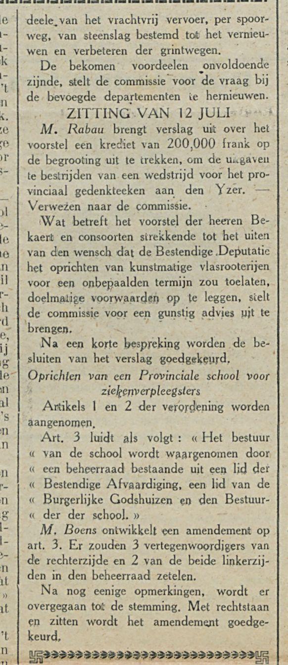 Provincieraad van West Vlaanderen-1