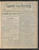 Gazette Van Kortrijk 1910-05-26 p1