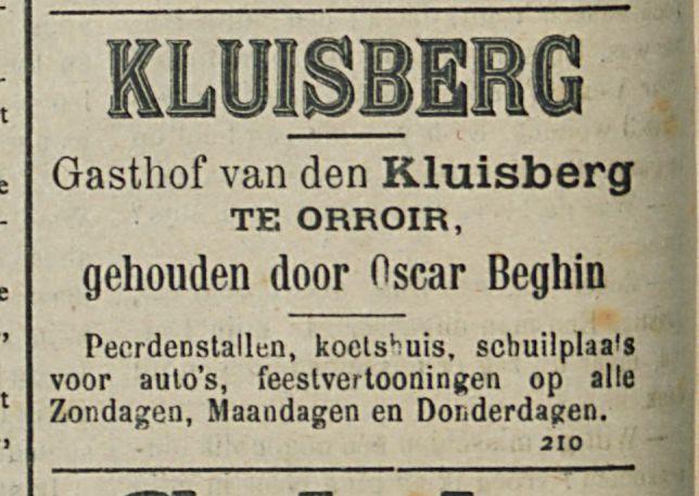 KLUISBERG