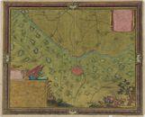 Westflandrica - Diksmuide, plan van de stad en de omgeving 1647