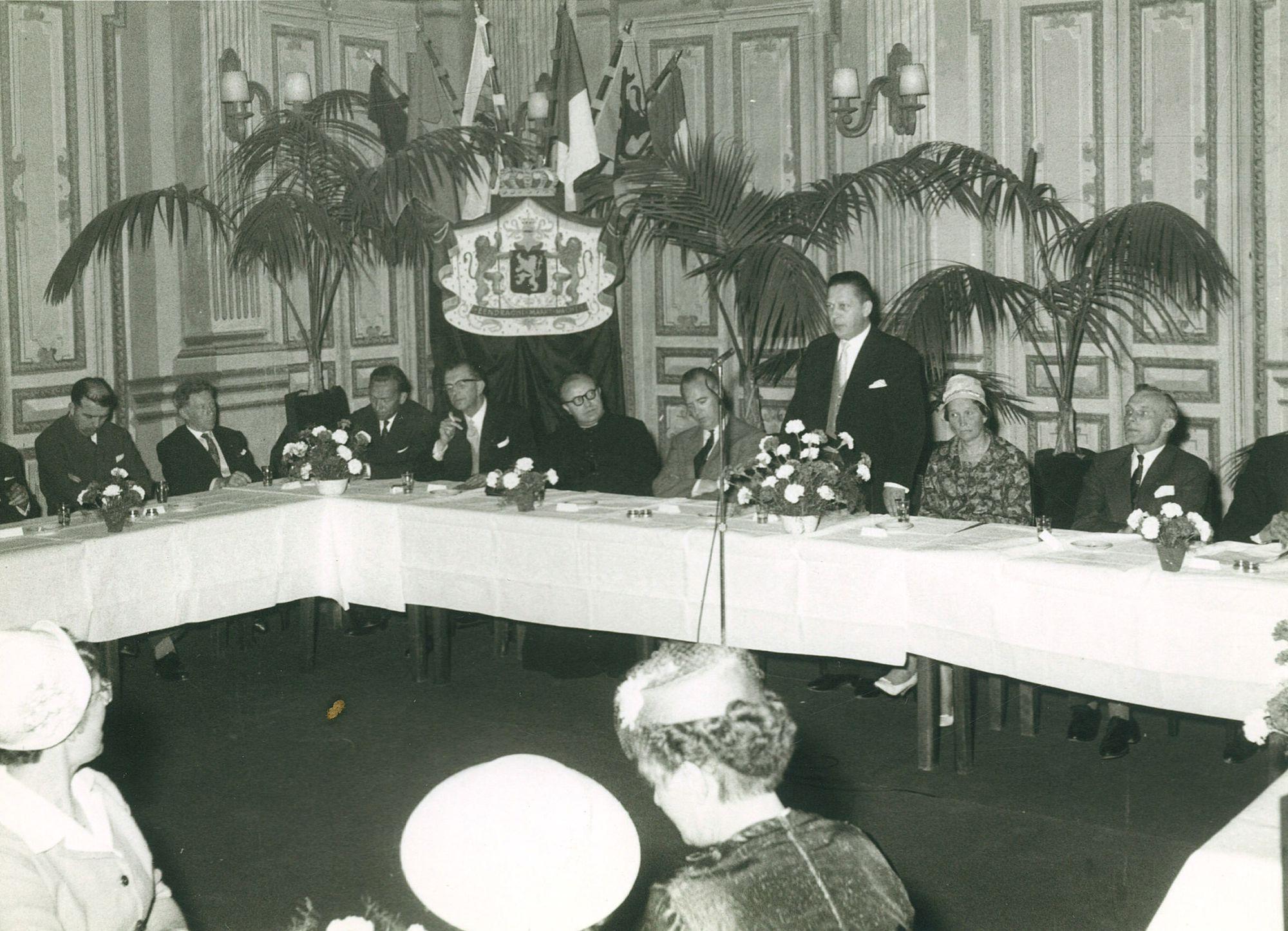 Inhuldiging burgemeester Lambrecht