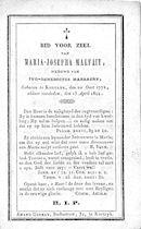 Maria-Josepha Malfait